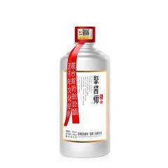 53°民族酒业 聚酱师(匠心)酱香型白酒500ml*1瓶