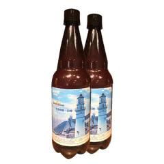 青岛崂滨澎湃海精酿啤酒1000ml*2瓶装全麦白啤酒CraftBeer7天鲜活