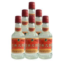 50º古井贡 古井大曲  陈年老酒 浓香型白酒 100ml(2007年)*6瓶