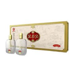 50°蒙特泉vip品鉴酒 浓香型白酒 条酒礼盒100ml*5瓶*6条整箱装