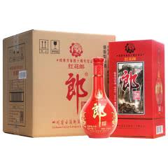 53°红花郎改革开放酱香型白酒1L(4瓶整箱装)