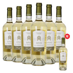 买一送一中国长城华夏大酒窖精选级霞多丽干白葡萄酒750ml(6瓶装)