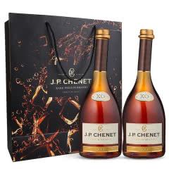 40°法国香奈XO白兰地700ml高端双支礼盒(含酒杯)