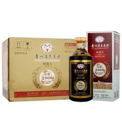 贵州茅台集团白金酒公司 53度白金2008坤酱5酱香型白酒 500ml*6