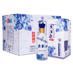 45°老龙口青轩龙500mlx6瓶整箱
