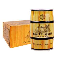 12.5度赛品干红葡萄酒 易拉罐装红酒 葡萄酒 红酒整箱330ml(12罐)
