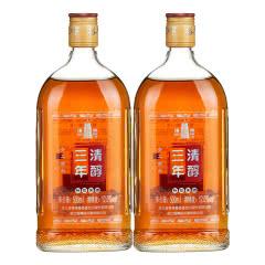 【品牌直营】塔牌绍兴黄酒三年清醇花雕酒500ml*2瓶瓶装手工冬酿半干型加饭酒