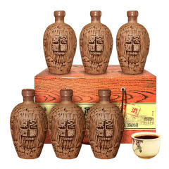 绍兴黄酒塔牌2009年冬酿原酒手工花雕礼盒半干型整箱6瓶加饭酒