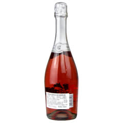 意大利红酒原瓶原装进口桃红葡萄酒甜起泡酒高泡气泡酒无香槟杯750ml