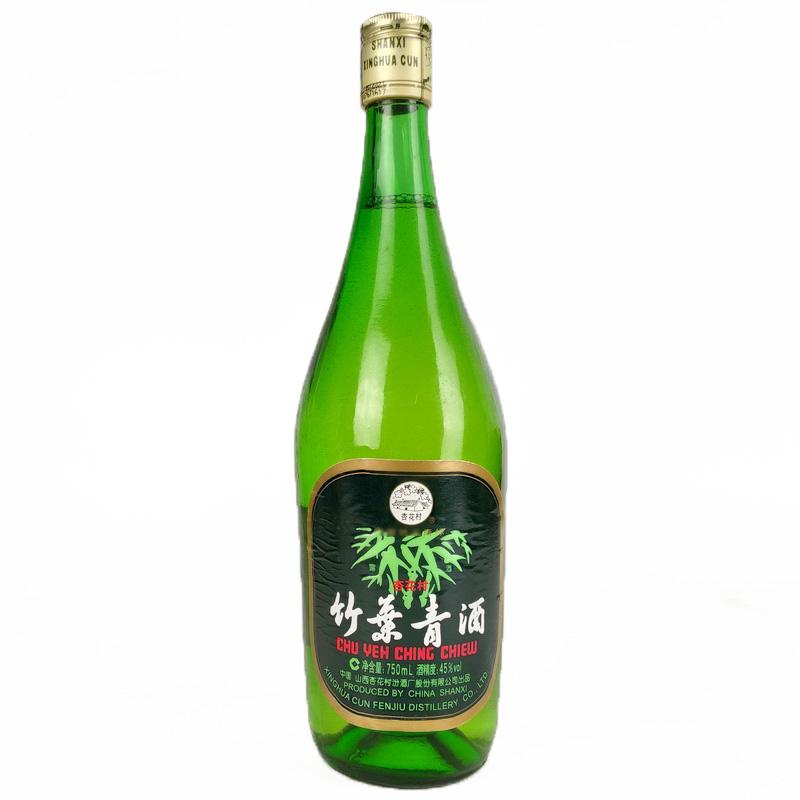 45°竹叶青酒750ml(2008年)