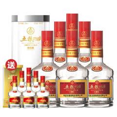 52°五粮液股份五粮珍藏级 整箱特惠装亚克力透明装 浓香型白酒500ml*6瓶