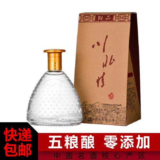 52°川北情御品酒 淡雅绵柔浓香型纯粮食酒450mL