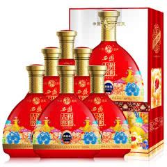 52°西凤 婚宴结婚红瓶喜酒 特价白酒 送礼白酒 传世古窖 (贵窖级 )整箱6瓶