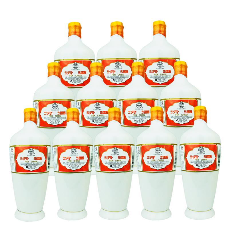 融汇陈年老酒 53°瓷瓶汾酒375ml(12瓶装)2010年
