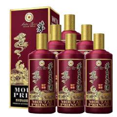 【东晟之美】53° 茅台王子 鸡年王子酒 纪念酒 (6瓶装)(2017年)