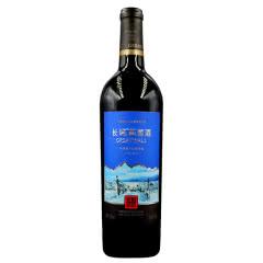 长城梅鹿辄干红葡萄酒13度750ml 单支