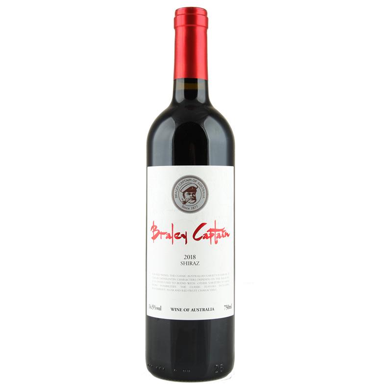 澳洲进口红酒老船长14.5度西拉干红葡萄酒750ml