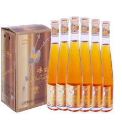 12°长白山中禧冰酒 威代尔白冰葡萄酒甜酒女士非香槟375ml(6瓶)