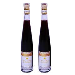 12°长白山中禧冰酒 冰红葡萄酒女士甜酒非香槟375ml(2瓶)