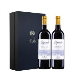 拉菲传奇波尔多红葡萄酒礼盒装750ml 2支装