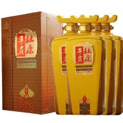 河南特产白酒 杜康酒 杜康尊贵酒尊贵人52度浓香型白酒500ml 4瓶整箱装