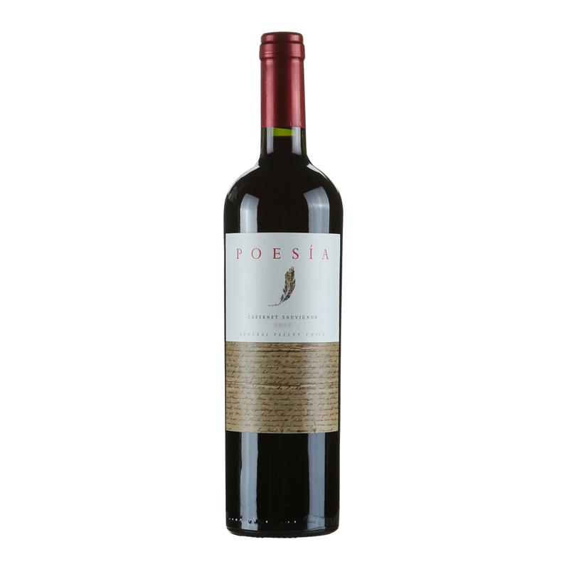 智利原瓶进口红酒波亚赤霞珠干红葡萄酒750ml