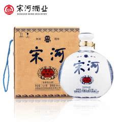 河南白酒 宋河粮液50度窖藏青花坛1.5L大坛 浓香型白酒