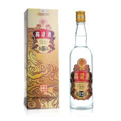 52°台老大高粱酒【陈高12】清香型白酒600ml*1 (1瓶装)