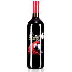 澳洲原瓶进口皇冠鹦鹉.红金刚西拉干红葡萄酒750ML*1