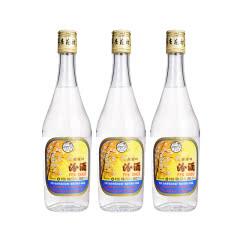 53°出口玻瓶汾酒500ml*3
