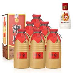 54°酒鬼湘泉500ml*6+46°悠悠湘泉酒100ml