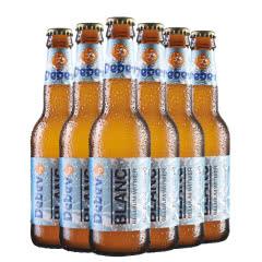 比利时进口勃朗精酿白啤酒果香白啤330ml*6瓶