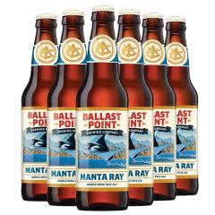 美国进口精酿 巴乐丝平/岬角蝠鲼鱼双倍IPA啤酒 355ml*6瓶