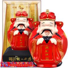 52度西凤酒 国花瓷(招财纳福  财神酒)1000ml  单瓶