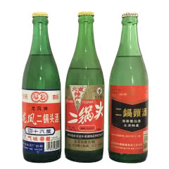 北京二锅头酒组合(龙凤+龙凤+华都)*3瓶