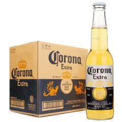 墨西哥进口啤酒CORONA科罗娜啤酒瓶装330ml*24瓶