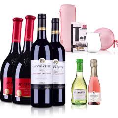 新旧世界代表国葡萄酒组合大礼包(法国+澳大利亚)