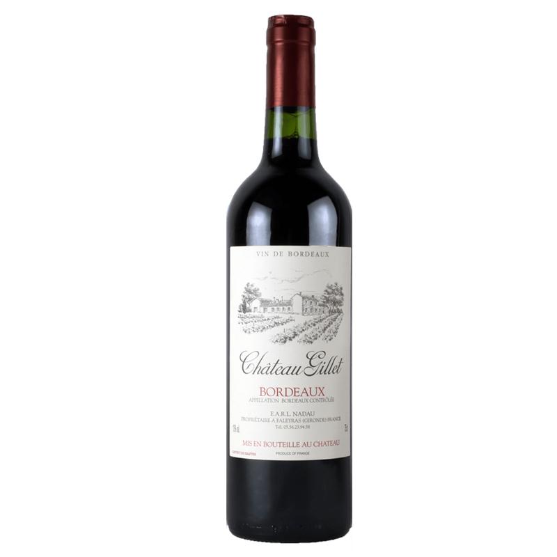 吉莱特庄园红葡萄酒 750ml