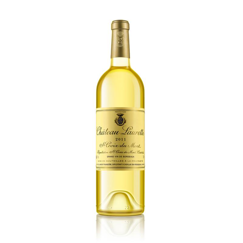 拉蒙 劳雷特酒庄 圣十字峰产区AOC 法国原瓶进口 贵腐甜白葡萄酒 750ml