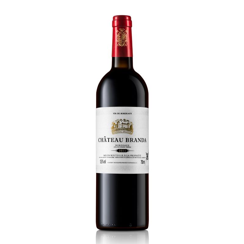 拉蒙 布兰达酒庄(B标)波尔多AOC级 法国原瓶进口 干红葡萄酒 750ml