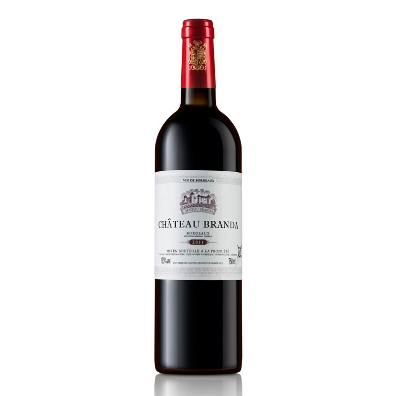 拉蒙 布兰达酒庄(E标)波尔多AOC级 法国原瓶进口 干红葡萄酒 750ml