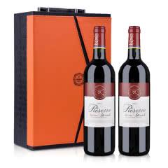 法国拉菲珍藏梅多克法定产区红葡萄酒750ml(双支礼盒装)