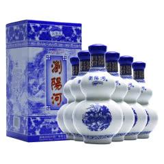52°浏阳河国产白酒 百里醇香475ml*6瓶整箱装
