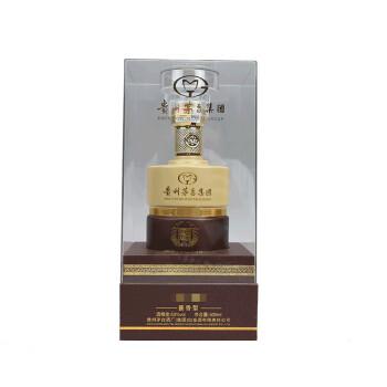 贵州茅台集团 白金酒坊 上品 53度 酱香型白酒 金色 500ml 单瓶