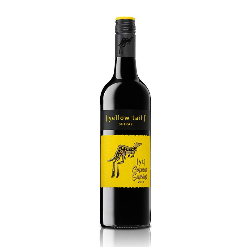 澳大利亚黄尾袋鼠缤纷系列西拉红葡萄酒750ml
