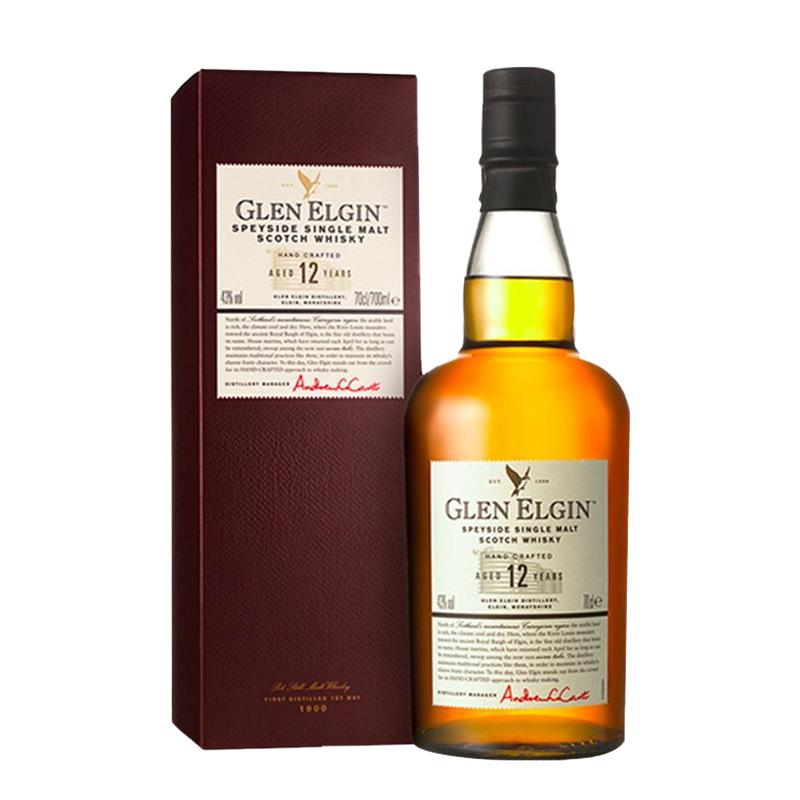 43°格兰爱琴12年单一麦芽威士忌700ml