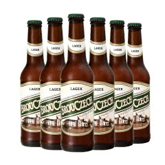 布鲁杰克瓶装拉格啤酒500ml*6瓶整箱捷克原装进口