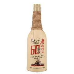 吉林雪兰山酒60年代老山楂酒6度600ml 单支
