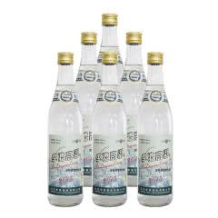 45°李渡高粱2015光瓶白酒浓特兼香型500ml整箱*6瓶