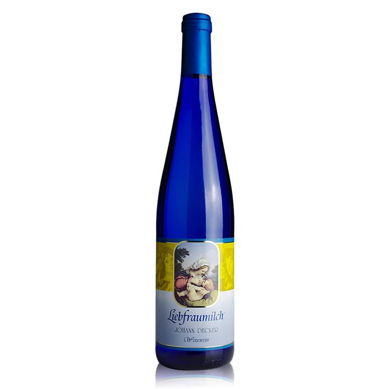 德国原瓶进口红酒正品 莱茵黑森 嘉德庄园圣母之乳白葡萄酒 750ml